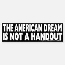 The American Dream v2 Bumper Stickers