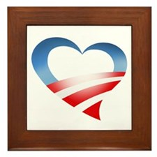 Heart Logo Framed Tile