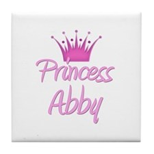 Princess Abby Tile Coaster