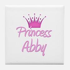 Princess Abby Tile Coaster