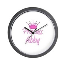 Princess Abby Wall Clock