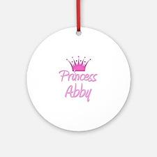 Princess Abby Ornament (Round)