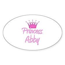 Princess Abby Oval Decal