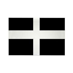 Cornwall Flag Rectangle Magnet (10 pack)