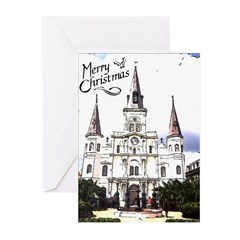 Old Cathedral New Orleans Christmas Cards ( 6)
