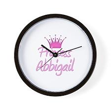 Princess Abbigail Wall Clock