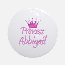 Princess Abbigail Ornament (Round)