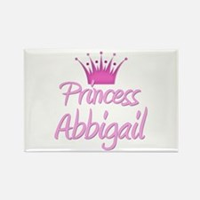 Princess Abbigail Rectangle Magnet