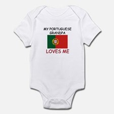 My Portuguese Grandpa Loves Me Infant Bodysuit
