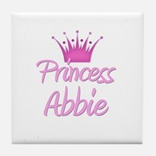 Princess Abbie Tile Coaster