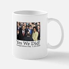 Yes We Did! Small Small Mug