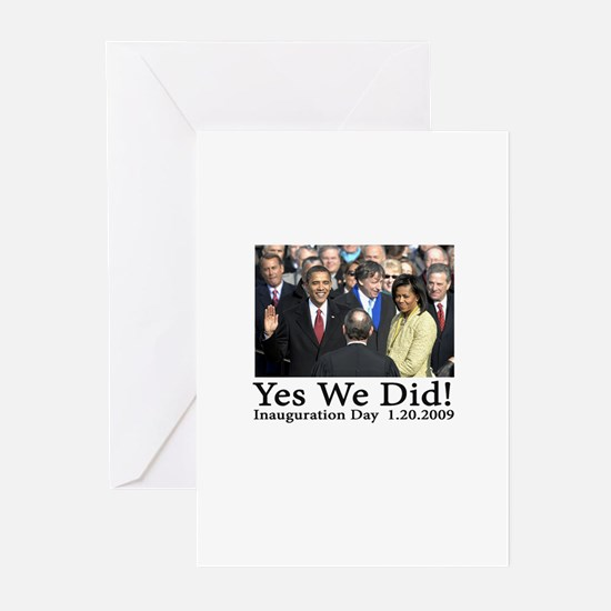 Yes We Did! Greeting Cards (Pk of 10)