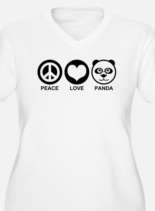 Peace Love Panda T-Shirt