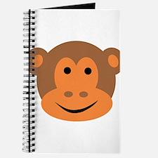 Monkey Ape Head Journal