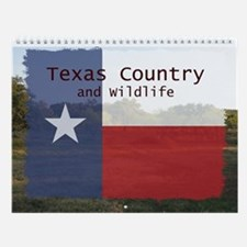 Texas Country and Wildlife Wall Calendar