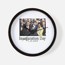 Inauguration Day 1.20.09 Wall Clock