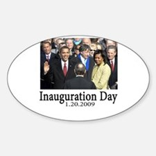 Inauguration Day 1.20.09 Oval Decal