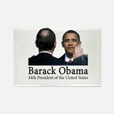 Barack Obama, 44th President Rectangle Magnet