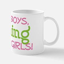 FISHING IS FOR GIRLS Mug