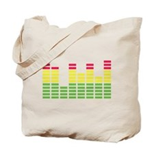 equalizer audio sound Tote Bag