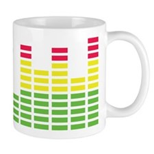 equalizer audio sound Mug