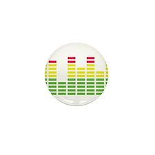 equalizer audio sound Mini Button (10 pack)