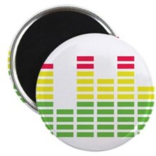 "equalizer audio sound 2.25"" Magnet (100 pack)"