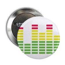 """equalizer audio sound 2.25"""" Button (10 pack)"""