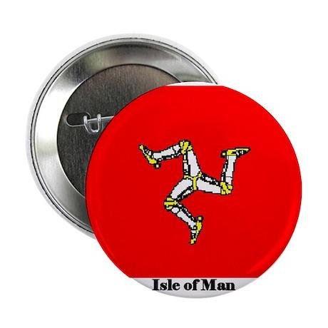 Isle of Man Flag Button