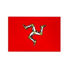 Isle of Man Flag Rectangle Magnet