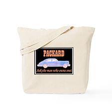 """""""Packard Slogan"""" Tote Bag"""