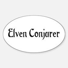 Elven Conjurer Oval Decal
