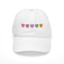 Hearts Baseball Cap