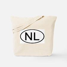 Netherlands - NL - Oval Tote Bag