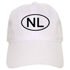 Netherlands - NL - Oval Baseball Cap
