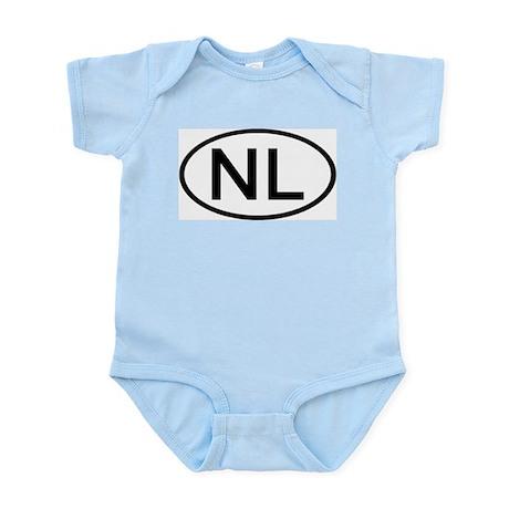 Netherlands - NL - Oval Infant Creeper