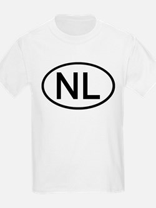 Netherlands - NL - Oval Kids T-Shirt