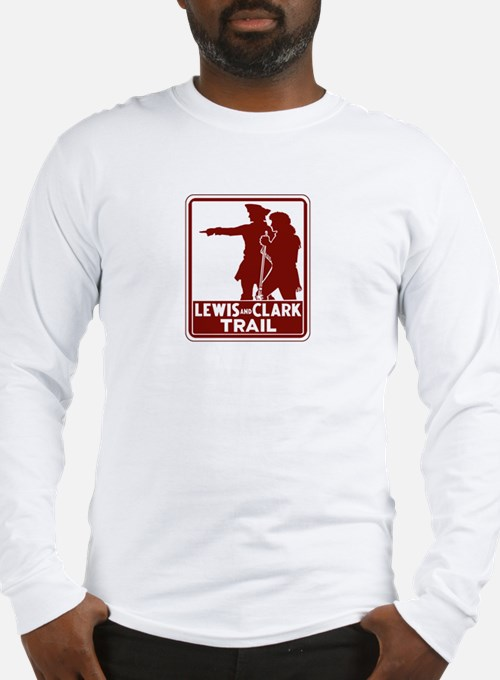 Lewis & Clark Trail, Idaho Long Sleeve T-Shirt