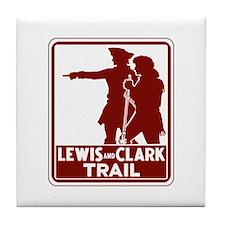 Lewis & Clark Trail, Idaho Tile Coaster