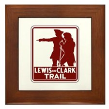 Lewis & Clark Trail, Idaho Framed Tile