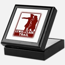 Lewis & Clark Trail, Idaho Keepsake Box