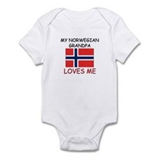 My Norwegian Grandpa Loves Me Infant Bodysuit