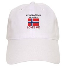 My Norwegian Grandpa Loves Me Baseball Cap