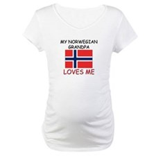 My Norwegian Grandpa Loves Me Shirt