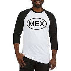 Mexico - MEX - Oval Baseball Jersey