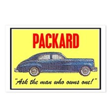 """""""1946 Packard Slogan"""" Postcards (Package of 8)"""