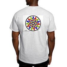 Pentagrams #2 - Ash Grey T-Shirt