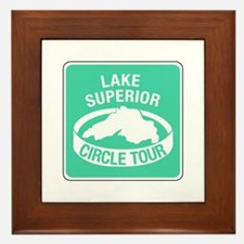 Lake Superior Circle Tour, Minnesota Framed Tile