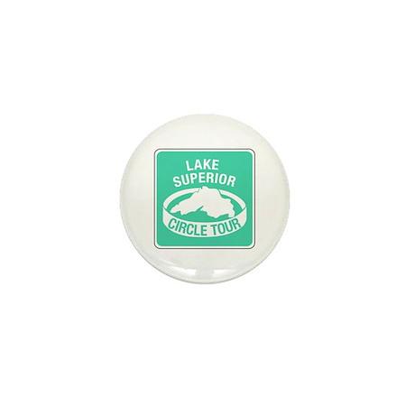 Lake Superior Circle Tour, Minnesota Mini Button (