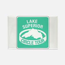 Lake Superior Circle Tour, Minnesota Rectangle Mag